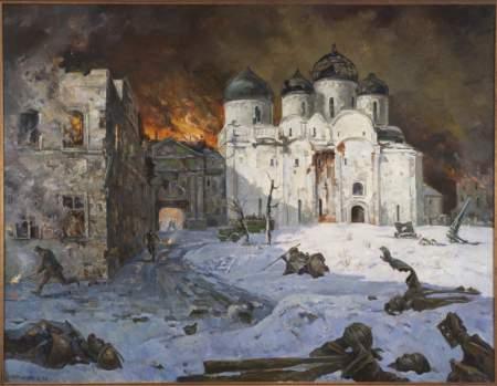 Выставка «Новгородская земля в годы Великой Отечественной войны»