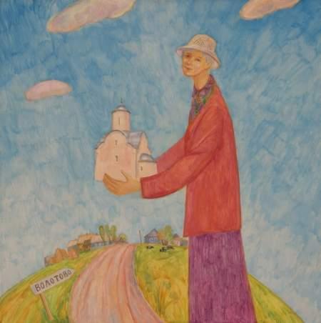 Новгородский музей-заповедник представляет юбилейную выставку Галины Филипповой