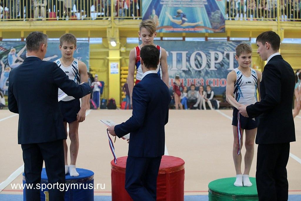 Новгородский гимнаст выиграл всероссийский турнир «Олимпийские надежды»
