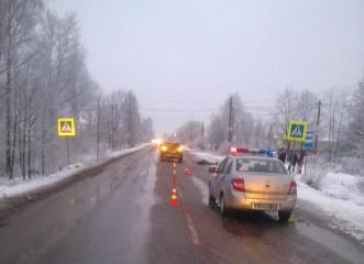 В Новгородском районе В результате этого дорожно-транспортного происшествия погиб пешеход