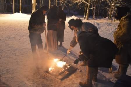 «Васильев вечер» в Витославлицах