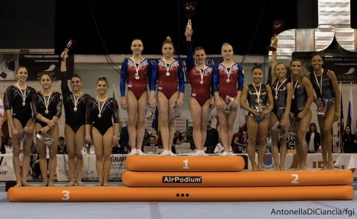 Новгородская гимнастка победила на международном турнире