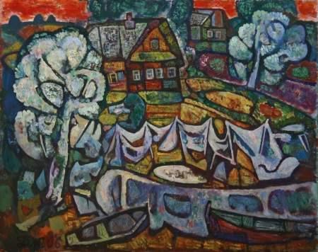 Выставка живописи Дмитрия Журавлева к юбилею художника