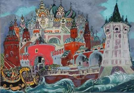 Выставка «У Лукоморья… Сказки А.С. Пушкина» в Музее изобразительных искусств