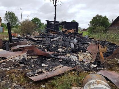 Боровичским межрайонным следственным отделом проводится проверка по факту гибели мужчины на пожаре