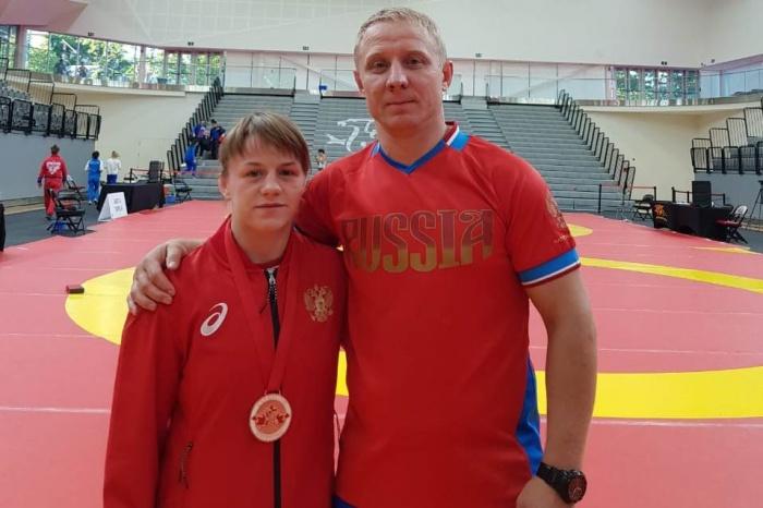 Новгородка заняла третье место на Кубке Канады по вольной борьбе