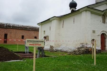 Начался новый этап археологического изучения собора Бориса и Глеба в кремле