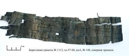Письмо через Волхов: первое прочтение грамоты №1113