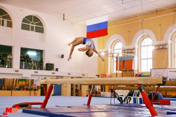 Открытые областные соревнования по спортивной гимнастике, на призы ЗМС России Анны Ковалевой