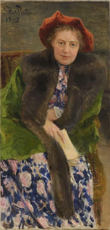 Новгородский музей-заповедник представил полотно И.Е. Репина из своего собрания на выставке в Третьяковской галерее