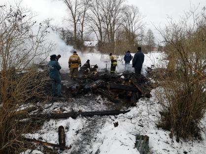 Маловишерским межрайонным следственным отделом проводится проверка по факту гибели женщины на пожаре