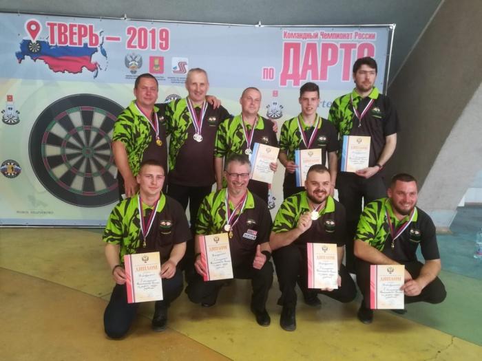 Окуловские дартсмены выиграли чемпионат России