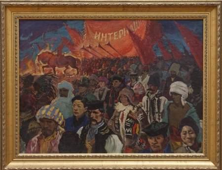 Новгородский музей-заповедник представляет две картины на выездных выставках «Сокровища музеев России», организованных РОСИЗО