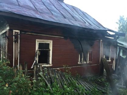 Маловишерским межрайонным следственным отделом проводится проверка по факту гибели двух человек на пожаре