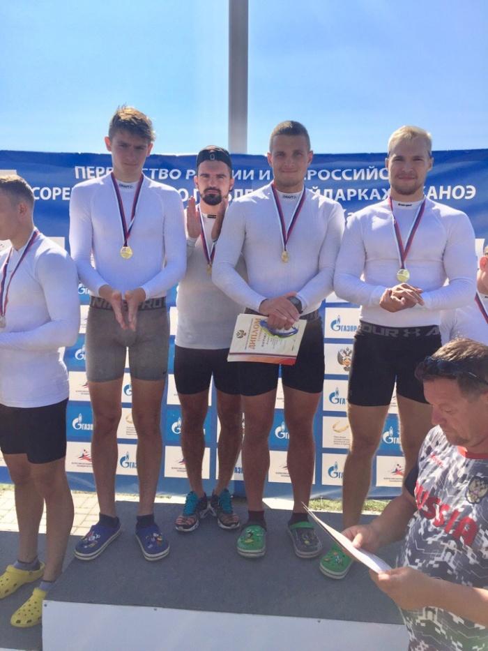 Новгородцы – победители и призеры первенства России по гребле на байдарках