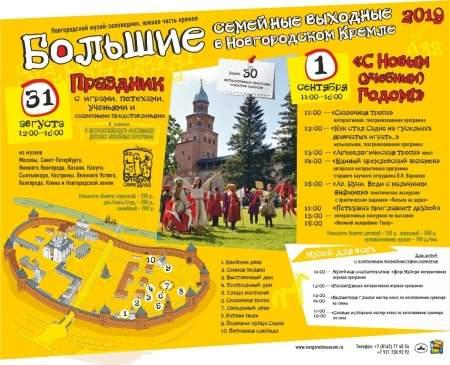 V Международный фестиваль детских музейных программ в Новгородском Кремле