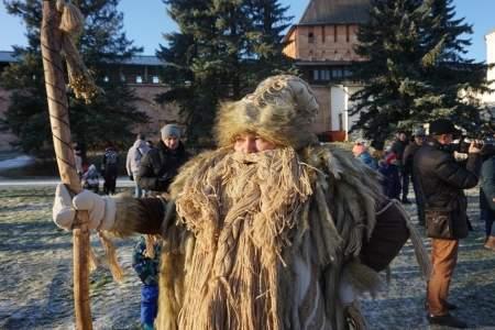 Новгородский Дед Трескун отправляется на гастроли в Тверскую область