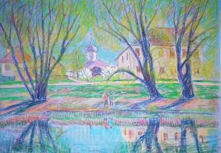Выставка графики трех новгородских художниц откроется в Музее изобразительных искусств
