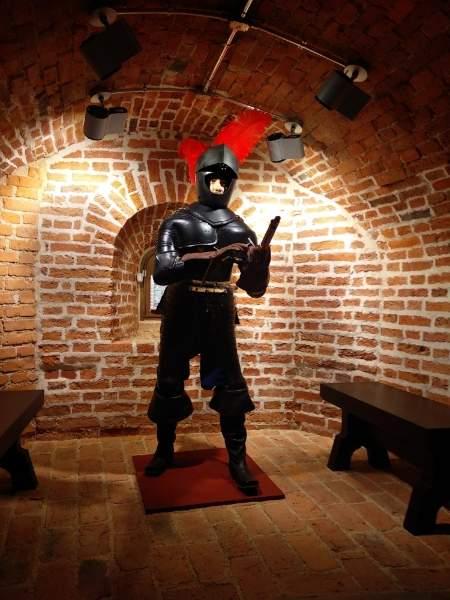 В новгородской Белой башне поселился рейтар