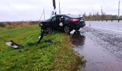 4 человека получили травмы В результате этого дорожно-транспортного происшествия  в Новгородской области