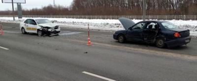 За минувшие сутки на территории Новгородской области зарегистрировано 2 ДТП с пострадавшими