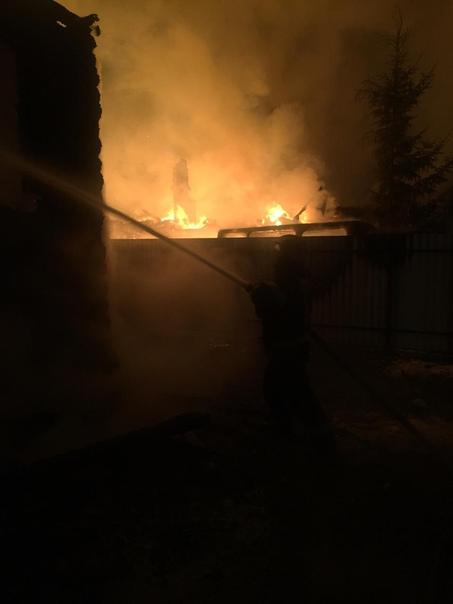 На пожаре в Новгородском районе обнаружен погибший