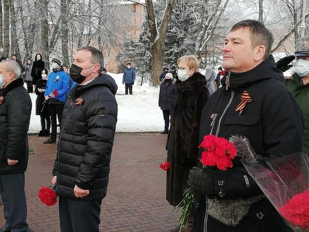 Состоялись торжественные мероприятия, посвященные 77й годовщине освобождения Новгорода