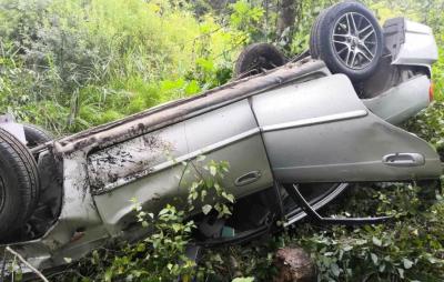 В Новгородской области пассажиры автомобиля получили травмы В результате этого дорожно-транспортного происшествия