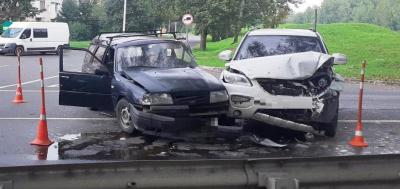 В Новгородской области В результате этого дорожно-транспортного происшествия  пять человек получили травмы
