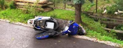 В Новгородской области водитель мопеда получил смертельные травмы В результате этого дорожно-транспортного происшествия