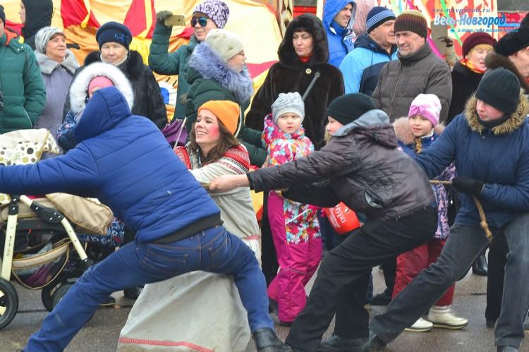 Масленица 2017 в Великом Новгороде. Фото. 26 февраля
