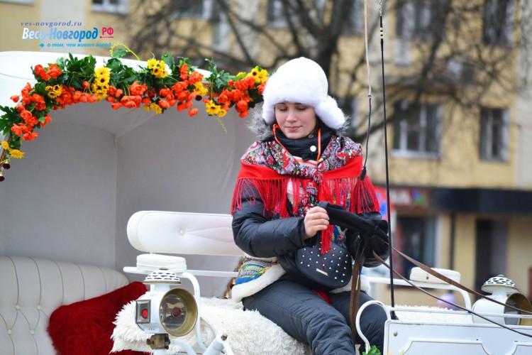 Масленица. Новгород. Фото