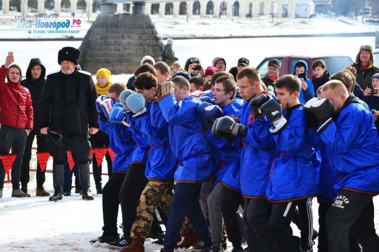 Масленица 2019 в Великом Новгороде. Фото
