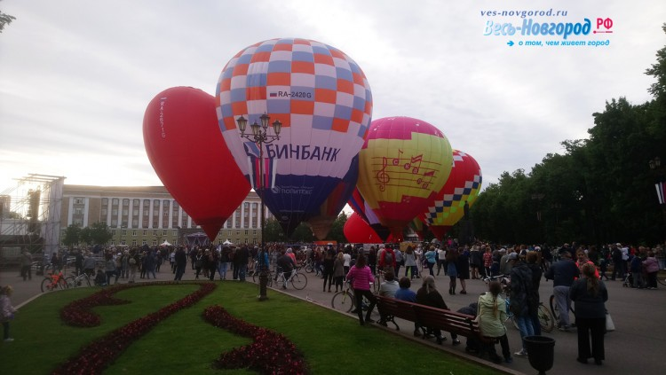 Фестиваль воздушных шаров. Фоторепортаж