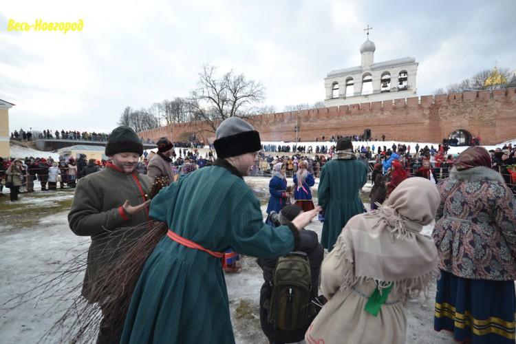 Масленица в Великом Новгороде