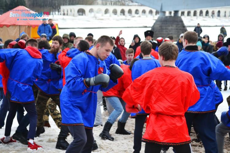 Масленица 2019 в Великом Новгороде