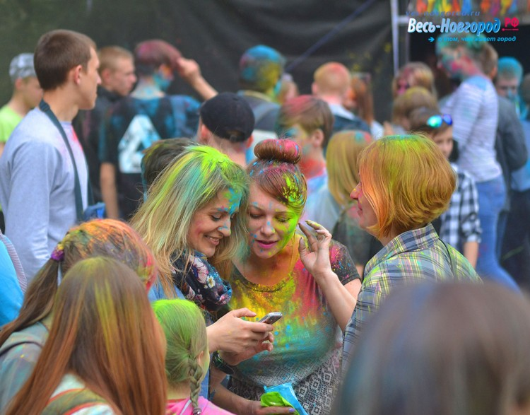 Фестиваль Красок Великий Новгород. 20 мая 2017 года