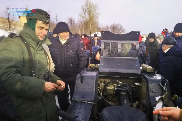 75-я годовщина освобождения Великого Новгорода (фото)
