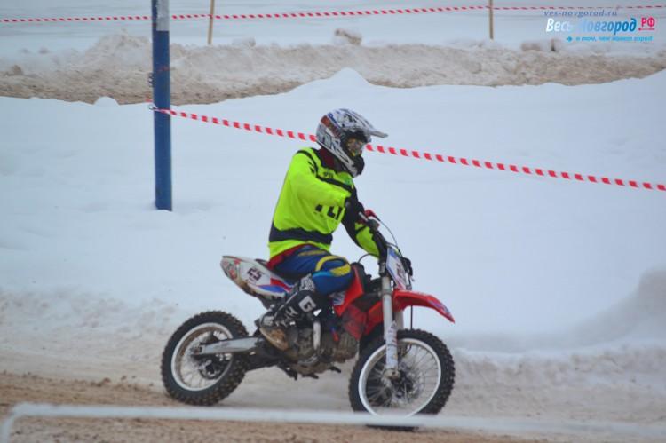 Зимний мотокросс на Кубок Новгородского Кремля - 18 февраля