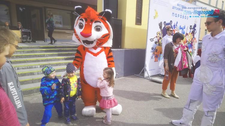 ФестивальПаровоз на День Города Великий Новгород