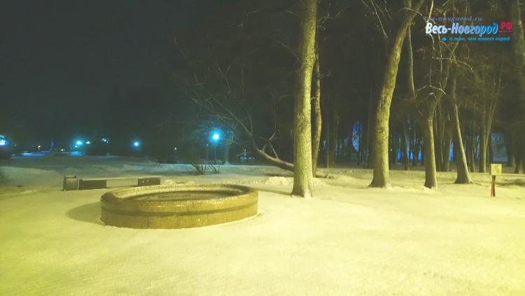 Снег, апрель