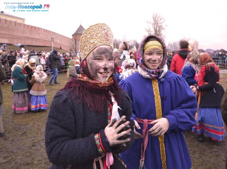 Масленица в Великом Новгороде 2016