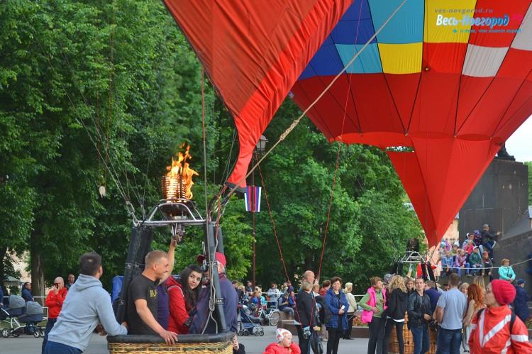 Фестиваль аэростатов
